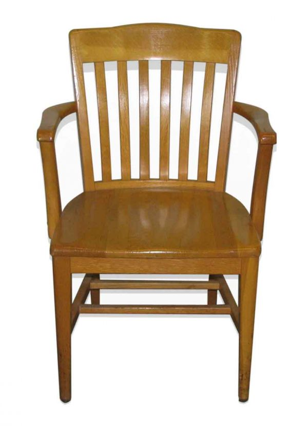 Bank of England Oak Chair - Seating