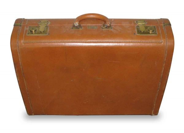 Beckers All Leather Vintage Briefcase - Suitcases