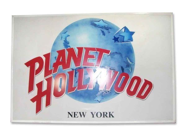 Planet Hollywood Metal Sign - Commercial Furniture
