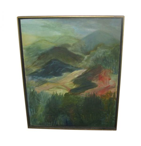 Scenic Oil Painting on Canvas - Paintings