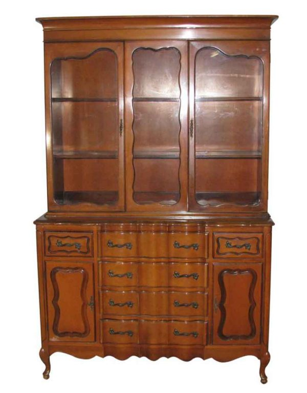 French Provincial China Cabinet - Cabinets