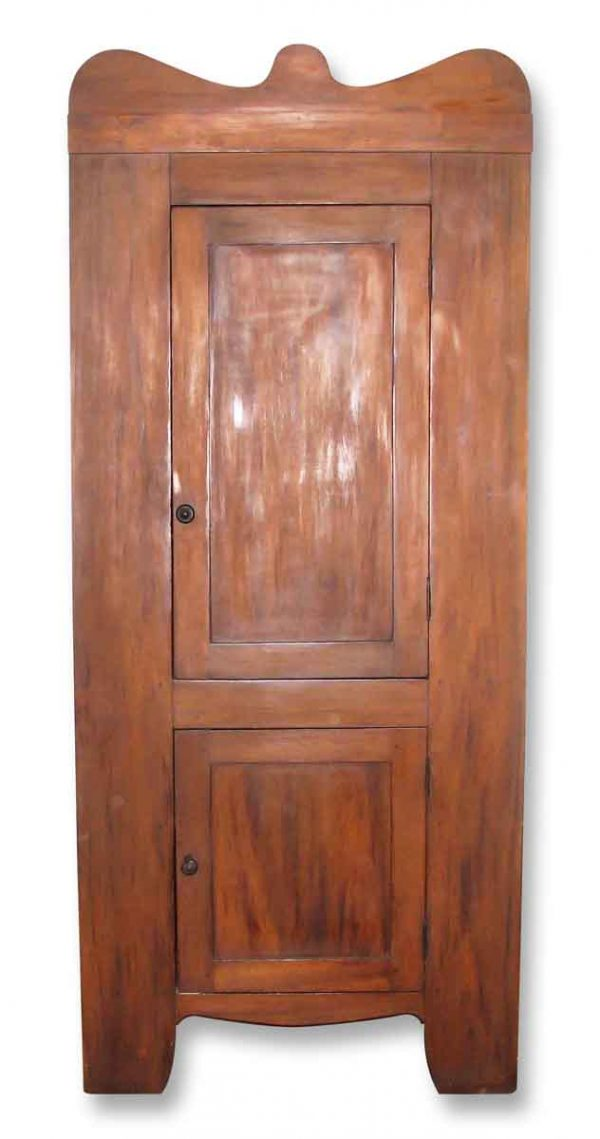 Early American Cherry Corner Cabinet - Cabinets