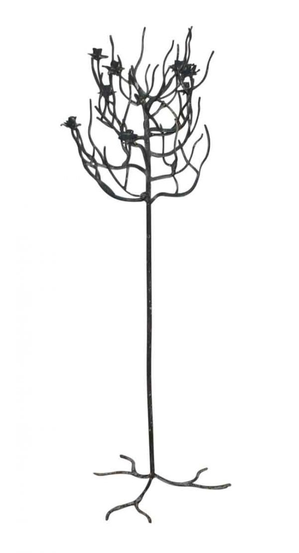 Wrought Iron Candelabra Stand - Candle Holders