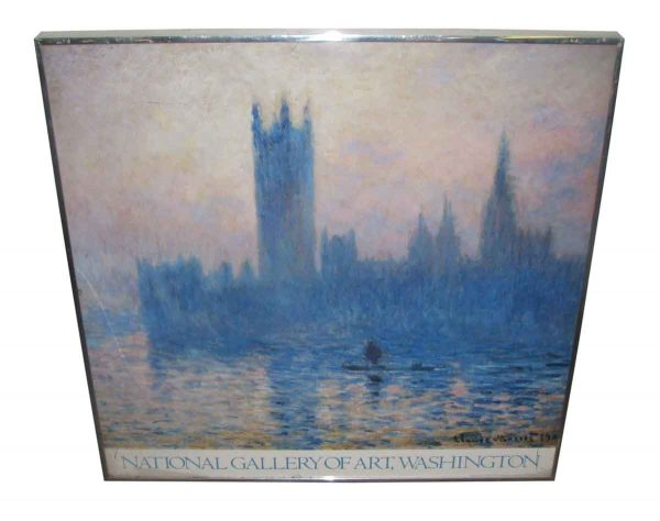 National Gallery of Art Vintage Exhibit Monet Poster - Posters