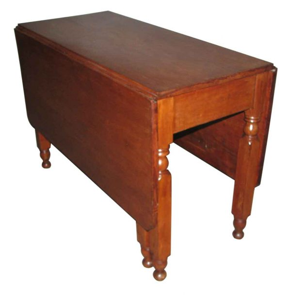 American Style Cherry Drop Leaf Table - Kitchen & Dining