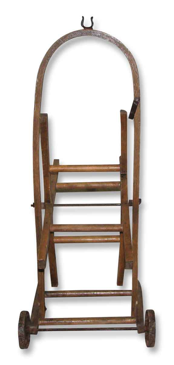 Bentwood Cart with Cast Iron Wheels - Tools