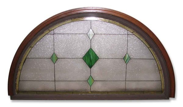 Textured Arched Stain Glass Window - Stained Glass