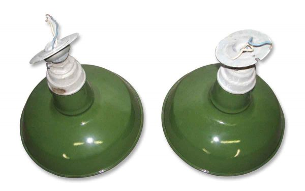 Industrial Green Enamel Light - Industrial & Commercial