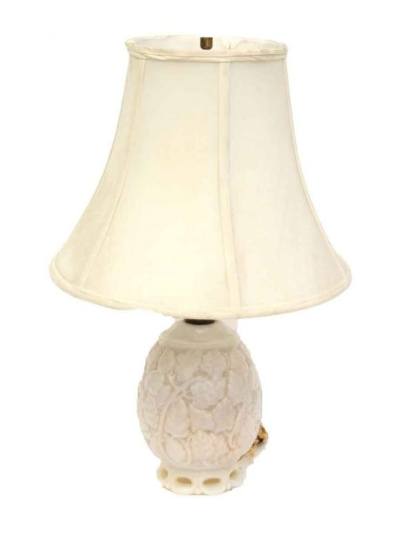Vintage Glass Table Lamp - Table Lamps