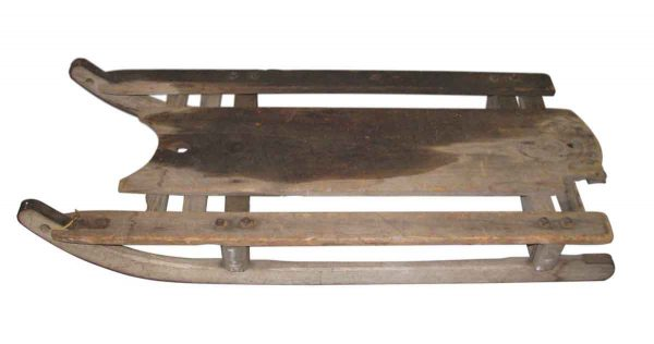 Antique Wooden Sled - Children's Items