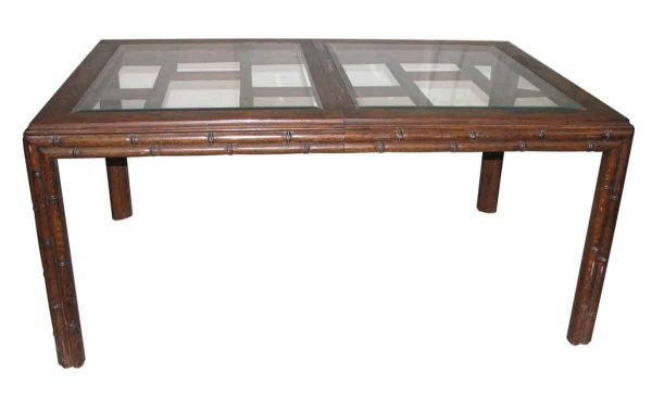 Extendible Asian Style Dining Table - Kitchen & Dining