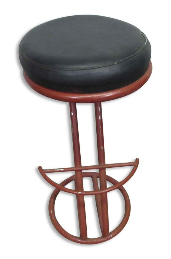 Bar Stool with Metal Base - Seating