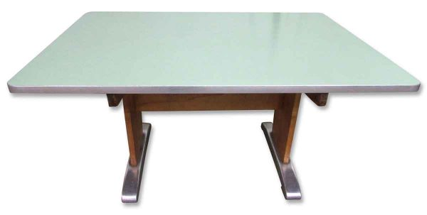 Machine Age Desk with Formica Top - Office Furniture