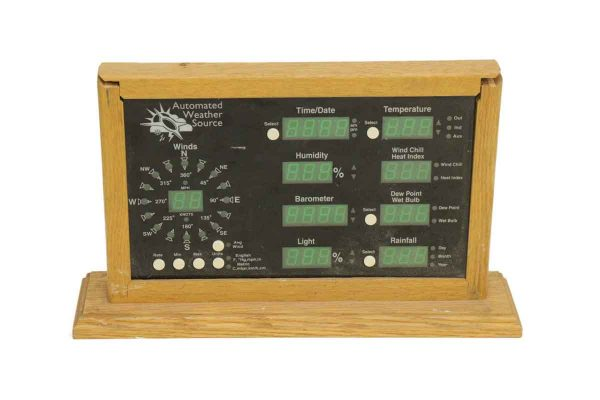 Vintage Automated Weather Source - Electronics