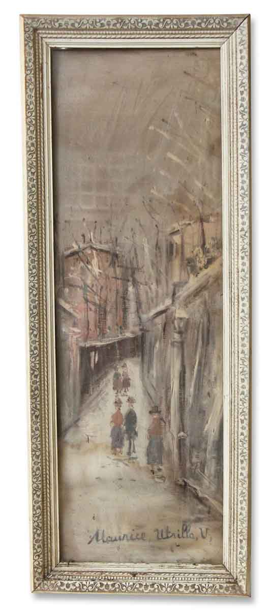Framed Art Painting of Street View - Paintings