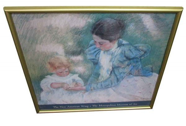 Framed Picture of Mother & Child - Prints
