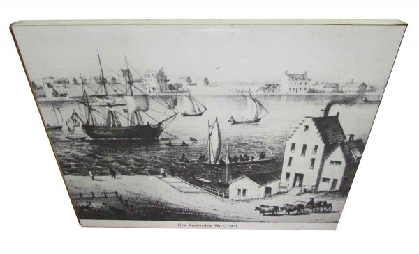 Print of the New Amsterdam Waterfront - Prints