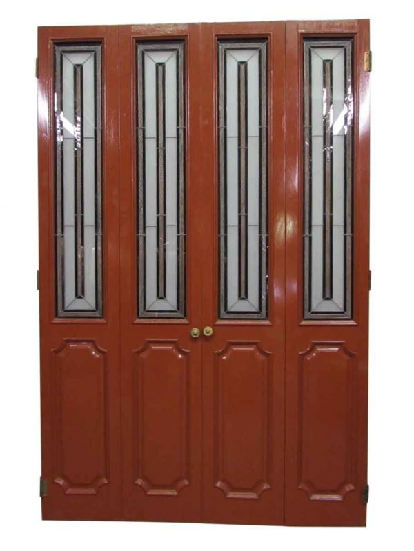 Closet Doors with Stained Glass - Closet Doors