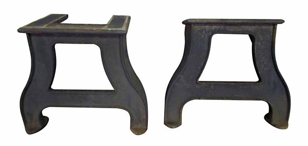 Original Cast Iron Industrial Table Legs - Table Bases