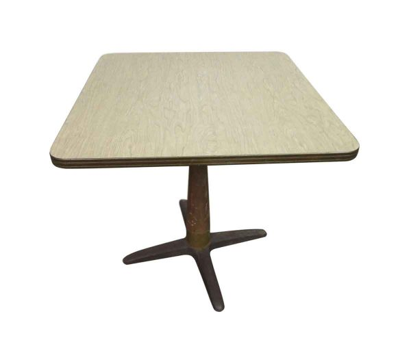 1940s Cafe Table with Original Formica Top - Commercial Furniture