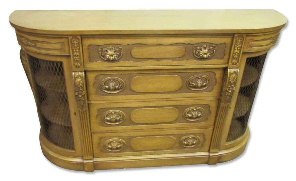 Antique Carved French Sideboard - Kitchen & Dining