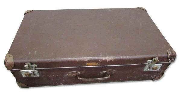 Brown Luggage Suitcase - Suitcases