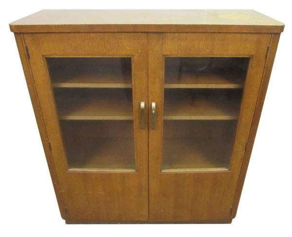 Art Deco Cabinet with Glass Front - Cabinets