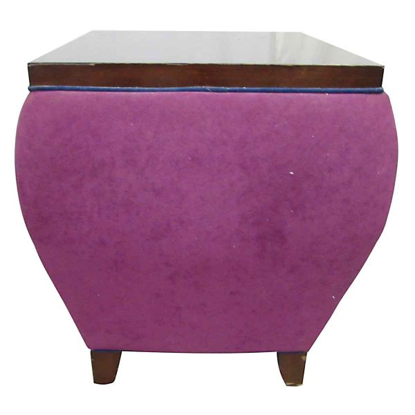 Mod Purple Display Table - Living Room