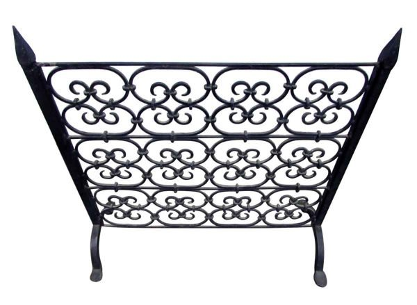 Wrought Iron Fireplace Grill or Screen - Screens & Covers