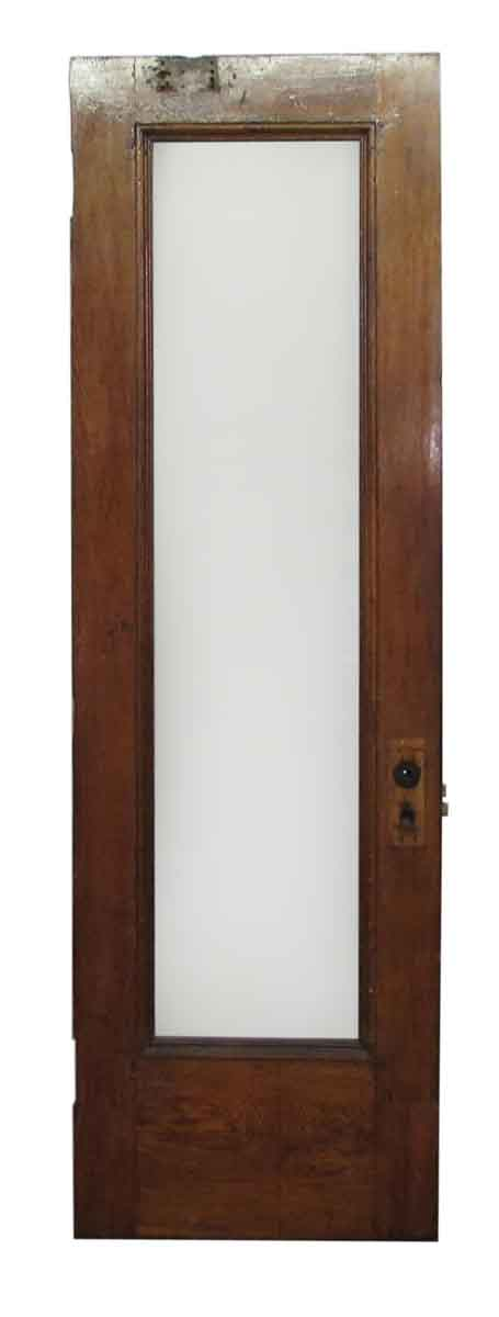 One Glass Panel Brownstone Door - Standard Doors
