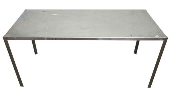 Long Aluminum Table with Narrow Profile - Office Furniture