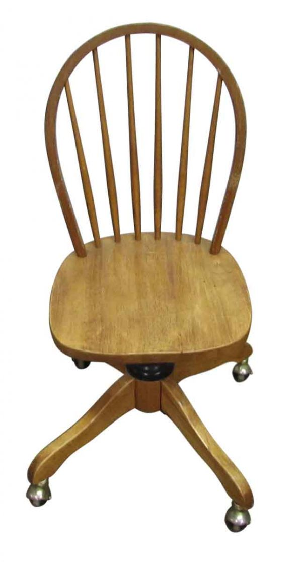 Windsor Chair on Casters - Office Furniture