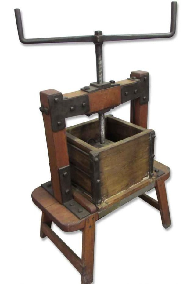 Apple or Wine Press - Collectibles