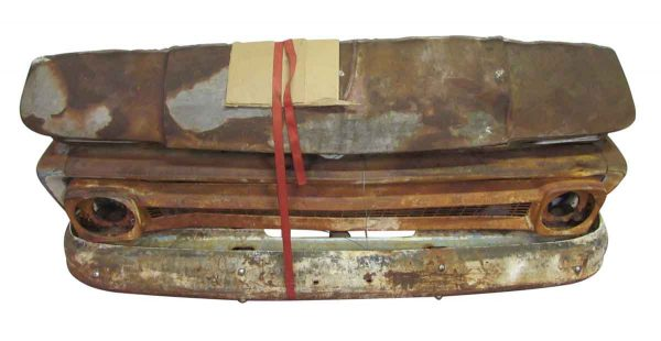 Chevy Rusted Car Front - Car Fronts & Parts