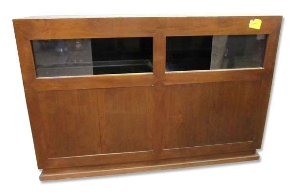 Antique Wall Showcase - Commercial Furniture