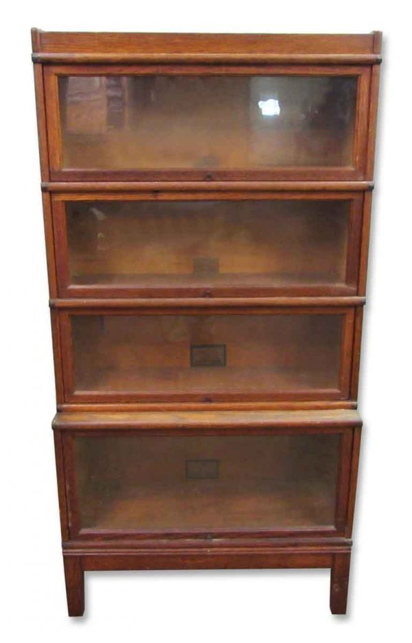 Four Level Barrister Book Case - Bookcases
