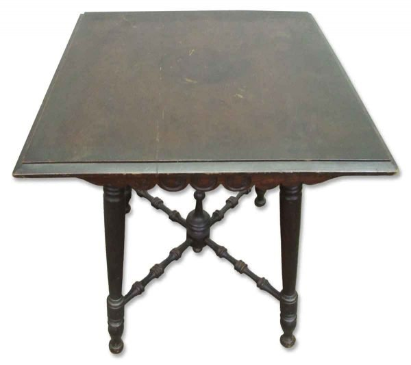 Table with Stretcher Legs - Kitchen & Dining