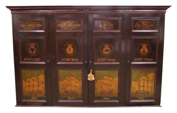 Admiralty House Chatham Cabinet - Cabinets