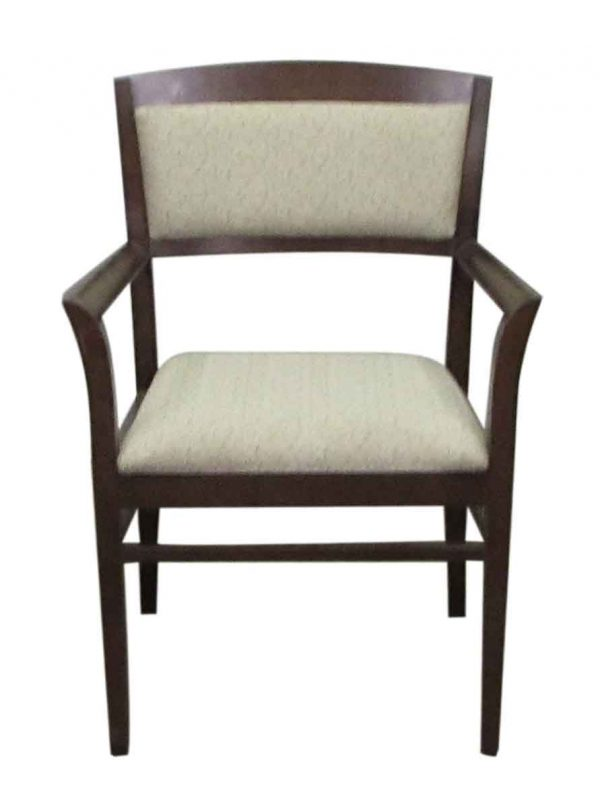 Set of Five Wood Dining Chairs - Kitchen & Dining