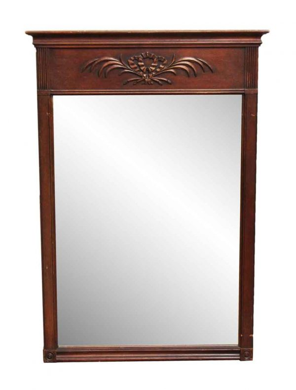 Federal Wooden Mirror - Antique Mirrors
