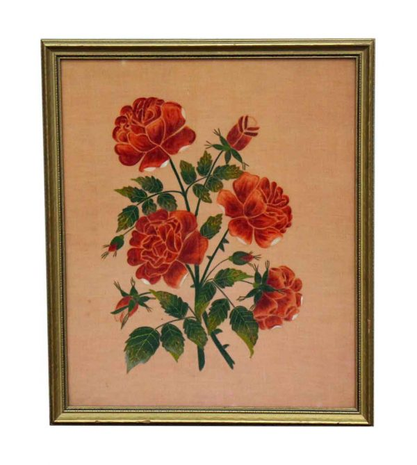 Framed Floral Print - Other Wall Art