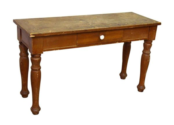 Broyhill Thin Wooden Table - Entry Way