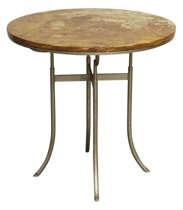 Round Wood Top Bistro Table - Commercial Furniture