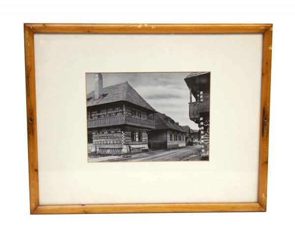 Framed Photo of Asian Home - Photographs
