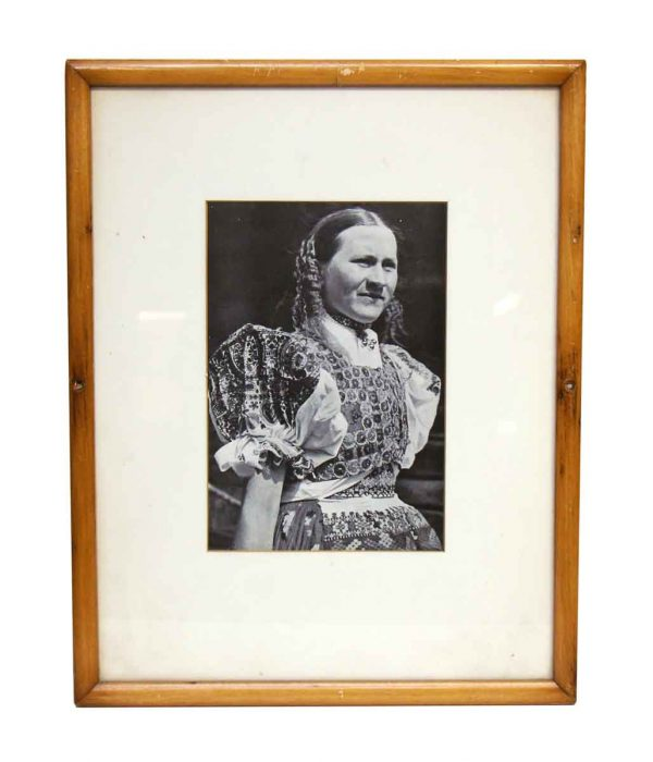 Portrait of Woman in Costume - Photographs