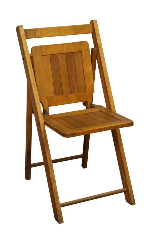 Wooden Folding Chair - Seating