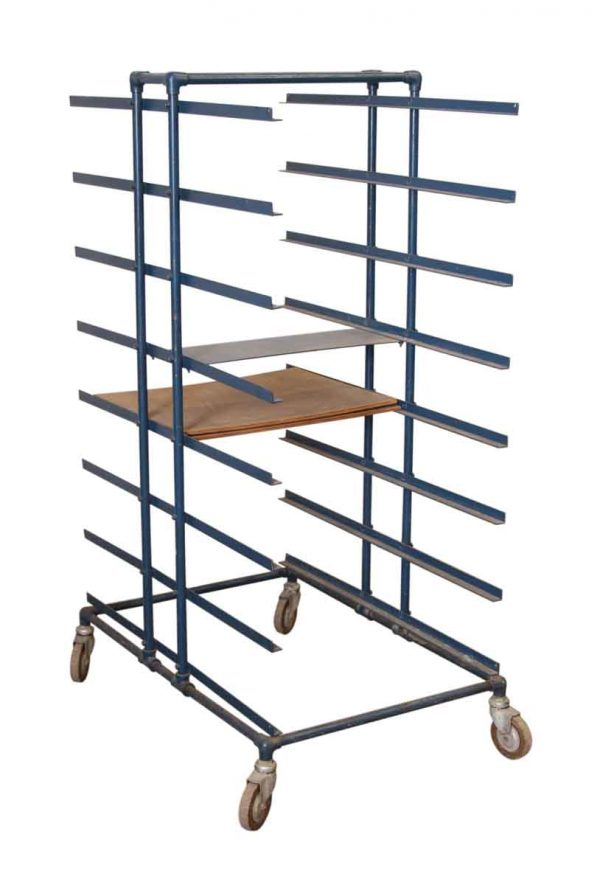 Metal Bakers Cart - Industrial