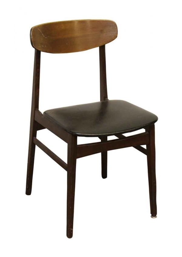 Mid Century Bent Wood Back Chair - Seating