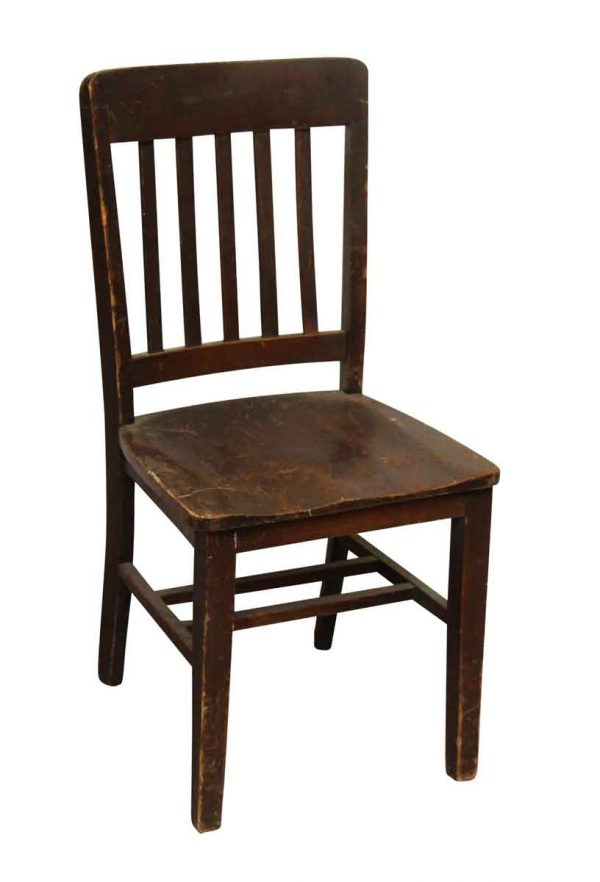 Simple Wooden Chair - Seating