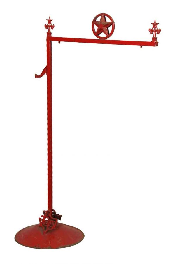 Red Texas Sign Pole - Commercial Furniture